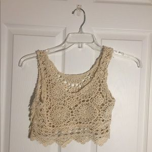Cropped Swim Cover-Up